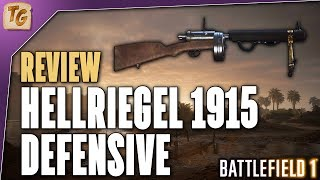 Hellriegel 1915 Defensive Review - Is The New BF1 Level 10 Assault Variant Worth The Grind?