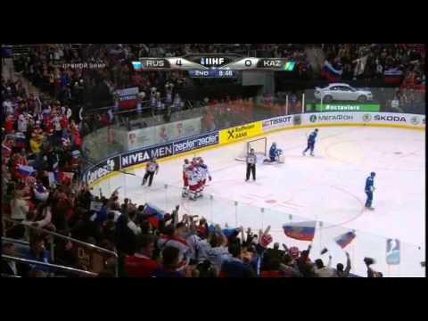 чемпионат мира по хоккею 2014 года,Россия-Казахстан