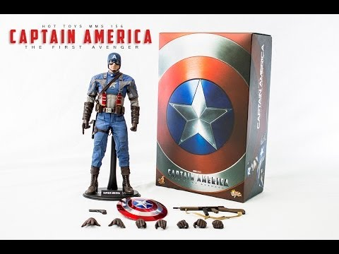 Hot Toys Captain america First Avenger