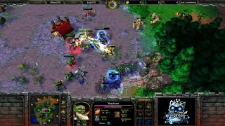 ► WarCraft 3 - Cash vs. EnTe - Dabbling a bit in WC3 commentary