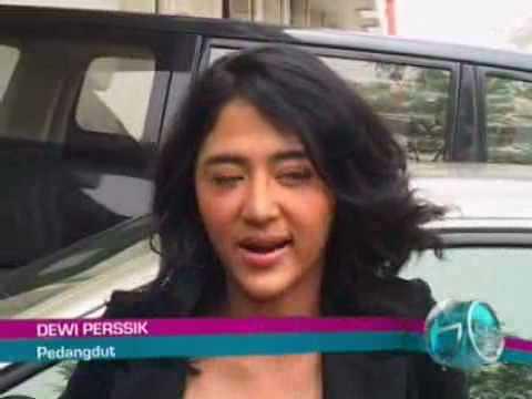 Dewi Perssik Ditegur Ahmad Dhani