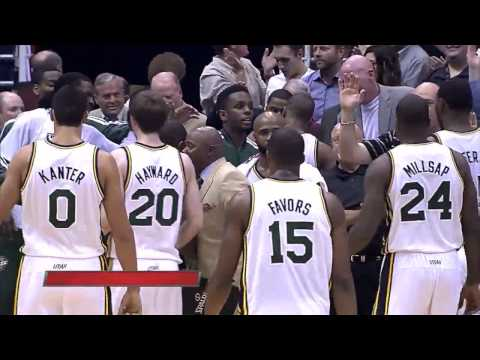 Randy Foye 3 Point Show vs. LA Lakers 4th Quarter 11-07-12