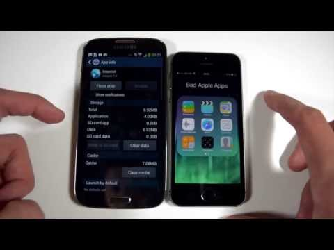 iPhone 5S vs Galaxy S4 - Web Browser Speed Test
