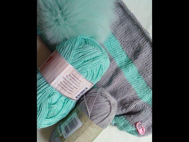 Отчет № 1. Вяжу Хейворд спицами. Вязание. Вязание спицами. Рынашко