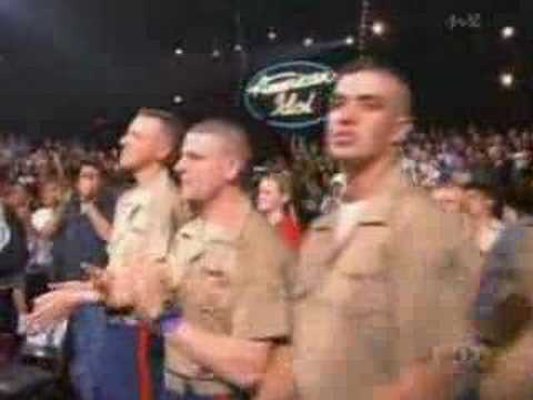 God Bless the USA (American Idol 2 encore)