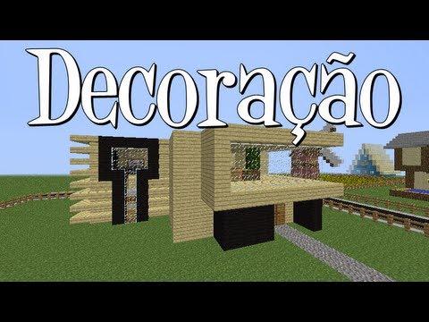 Tutoriais Minecraft: Decoração da Casa Moderna 2