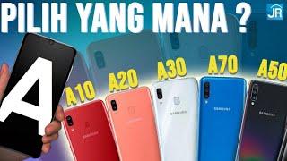 Samsung Galaxy A10, A20, A30, A50, A70, A80: Panduan Belanja Hape Samsung Selama Ramadhan 2019