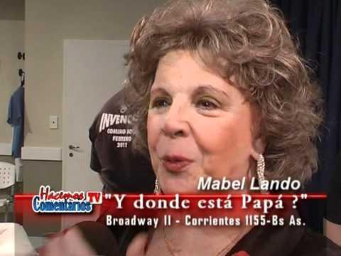 Hacemos Comentarios TV  Mabel Lando