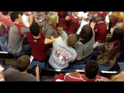 Bama Fan Goes Crazy On Ou Student video