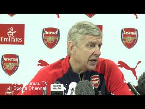 Arsene Wenger Pre Arsenal Vs Sunderland FA CUP