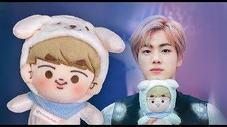 Unboxing Jindoongie BTS doll 방탄인형 Finally I've got my first love boy