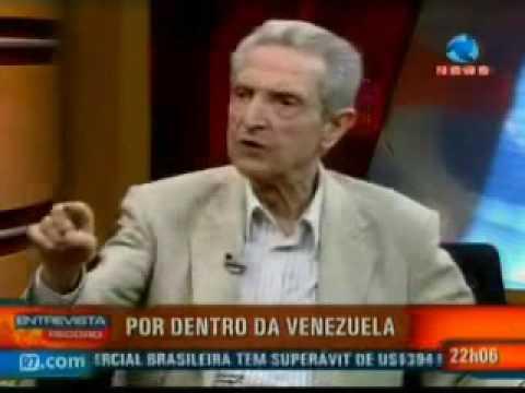 Alguns brasileiros têm opinião equivocada a respeito de Hugo Chavez, diz Plínio Sampaio