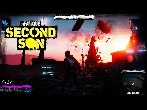 Infamous Second Son – BOSS FIGHT!! – PS4 Walkthrough Gameplay 1080P Livestream [Part 5]