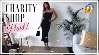 THRIFT SHOP HAUL [Spring/Summer 2019 Fashion Trends]