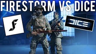 Playing Battlefield Firestorm vs DICE
