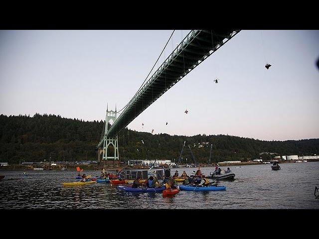 Greenpeace condamné à une amende pour le blocage d'un bateau de Shell