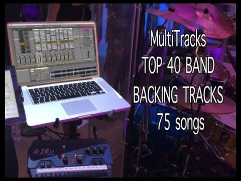 MultiTracks TOP 40 BAND BACKING TRACKS 75 songs w Click, Cue, Transpose, Mute