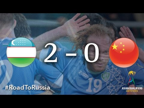 Uzbekistan vs China PR (Asian Qualifiers - Road to Russia)