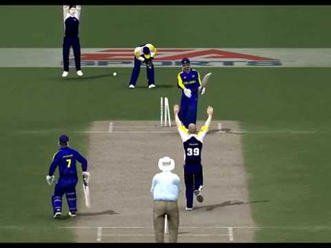 Sri Lanka v Scotland, ICC Cricket World Cup 2015 at Hobart, EA Sports Channel