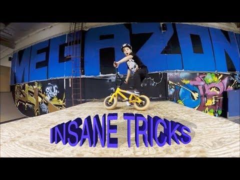 INSANE 7 YEAR OLD MINI BMX TRICKS