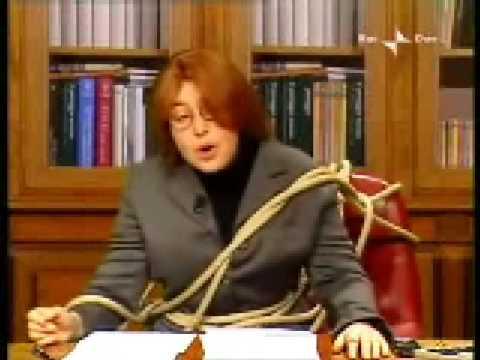 """Sabina Guzzanti – Annozero- """" Lucia Annunziata"""" – 29/01/2009 parte2/2"""