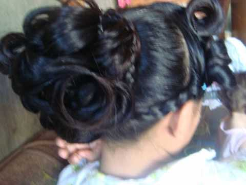 big do's for long and heavy hair..(inspired hairstyle) with side poofs ...