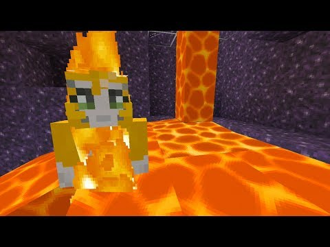 Minecraft Xbox RE Solitude Lava Swimming {13}