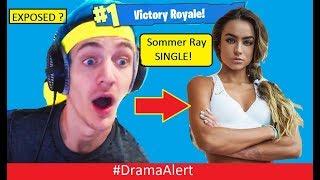 Ninja EXPOSED? #DramaAlert Sommer Ray 100% SINGLE!!!