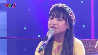 Vietnam's Got Talent 2016 - BÁN KẾT 3: Ai ra xứ Huế - Bé Quỳnh Anh