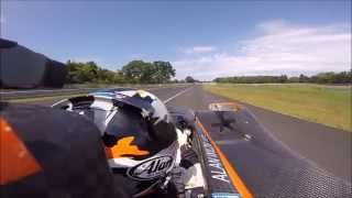 Onboard Thompson Speedway Motorsports Park Wilzig BISjoux Racing West WR-1000