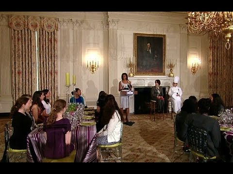 First Lady Michelle Obama Previews the U.K. State Dinner