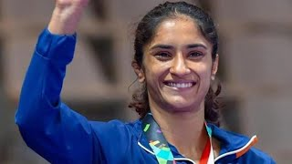 Vinesh Phogat becomes first Indian wrestler to qualify for Tokyo Olympics