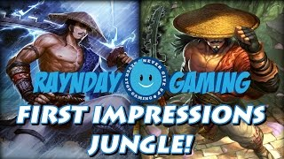 New God Susano First Impressions! Conquest Build and Jungle Gameplay! (SMITE)