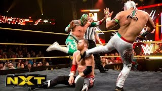 Kalisto Sin Cara vs Adam Rose Sami Zayn WWE NXT Aug 21 2014