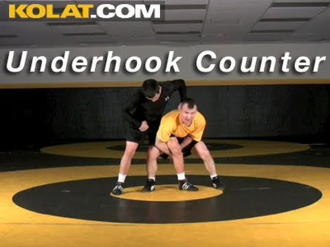 Underhook Counter KOLAT.COM Wrestling Techniques Moves Instruction Image 1