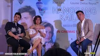 #HanggangKailanMediacon: How did Xian Lim, Louise delos Reyes bonded in Japan & work their chemistry