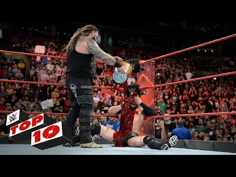 Top 10 Raw moments: WWE Top 10, August 14, 2017