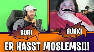 ER HASST MOSLEMS!!! TROLLING ON CHATROULETTE OMEGLE #1 | BURI