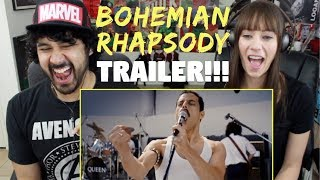 BOHEMIAN RHAPSODY | Teaser TRAILER - REACTION!!!