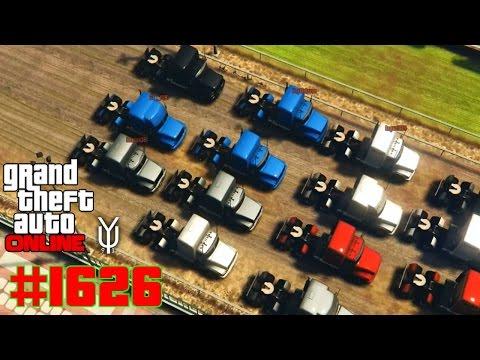 GTA 5 ONLINE Holt die Brummis raus #1626 Let´s Play GTA V Online PS4 YU91