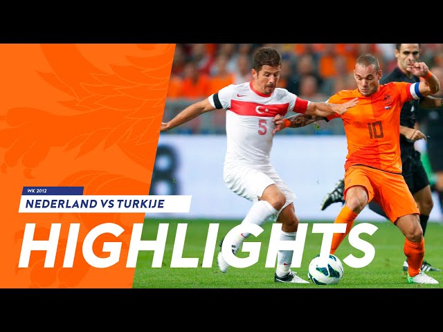 Highlights Netherlands - Turkey (2-0) WK-qualification 07-09-2012