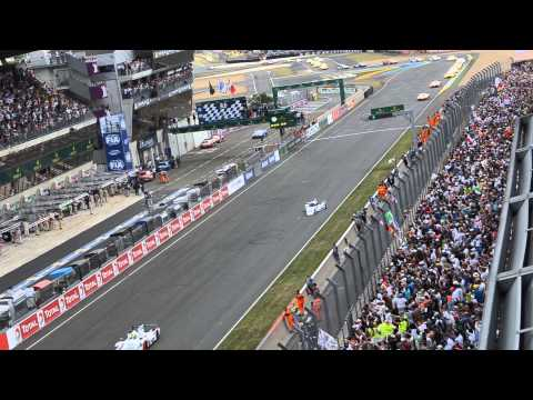 Arrancada en LeMans 2014