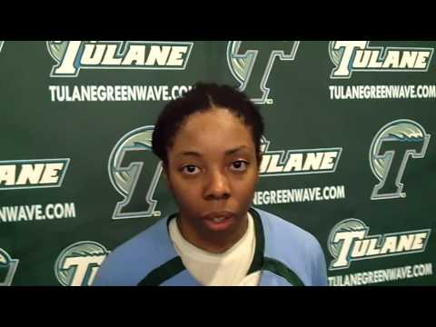 Olivia Grayson Reviews Tulane's 56-49 C-USA Win Over UTEP (2/7/13)