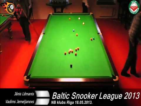 Baltic Snooker League 2013 -3rd stage in Riga