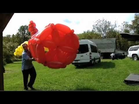 Meet The Record Breakers - John Cassidy - World s Largest Balloon Model