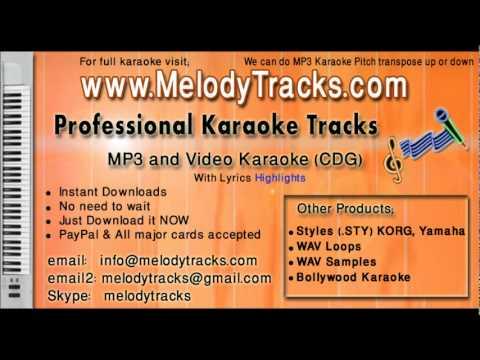 Dekha hai teri aankhon mein pyar - Rafi KarAoke - www.MelodyTracks...