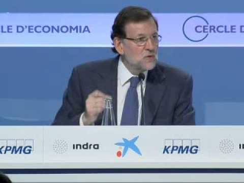 Mariano Rajoy - Sesión de Clausura XXX Reunión Círculo Economía