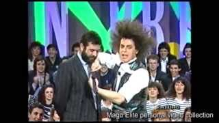 Francesco Scimemi 1990 debutto TV - Mago Elite video collection