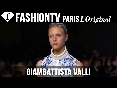 Giambattista Valli Spring/Summer 2015 | Paris Fashion Week PFW | FashionTV