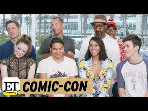 Comic Con 2017: 'Flash' Stars Dish on WestAllen Wedding Iris Becomes 'Leader' for Team Flash in S… thumbnail